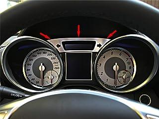 1 Zierblende für Tacho von Mercedes SLK 172 aus Aluminium R172 FL 280 200 350 AMG55 AMG45