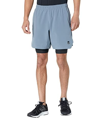 New Balance Fortitech 7 2-in-1 Shorts