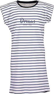 Blue Seven - Vestido de rayas para niña
