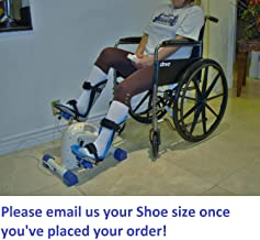 Foot Splints + Motorized Exercise Cycle / Bike for the Handicapped & Disabled