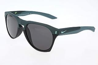 Nike EV1021-330 Essential Navigator Sunglasses (Frame Dark Grey Lens), Matte Seaweed/Black