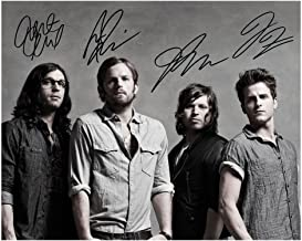 Kings Of Leon Signed Autographed 8 x 10 Photo