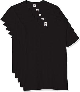 Fruit of the Loom Men's T-Shirt Iconic Tee, Lightweight Ringspun Tee, 5 Pack