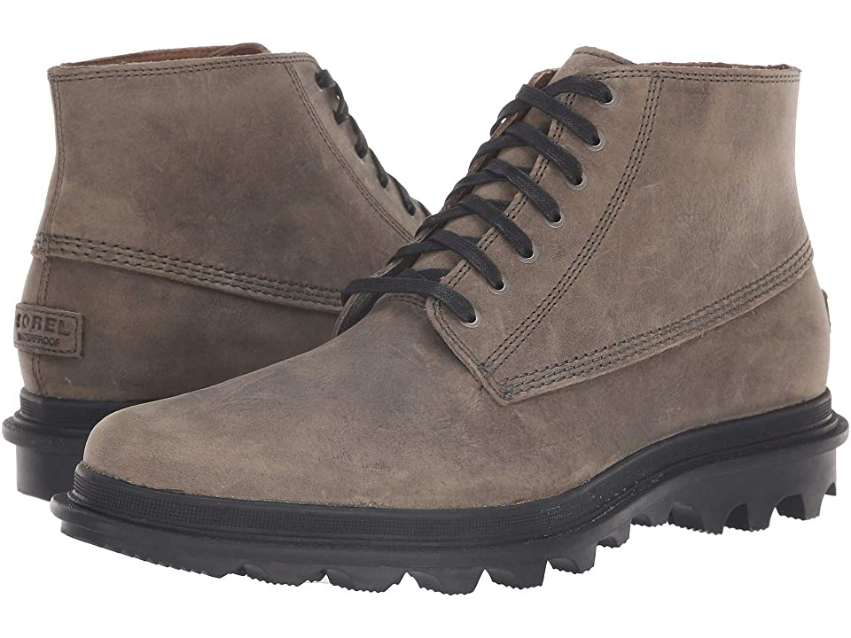 SOREL Acetm Chukka Waterproof (Quarry/Black) Men