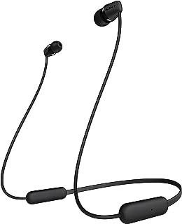 Sony Wi-C200 Wireless In-Ear Headphones, Black (WIC200/B)