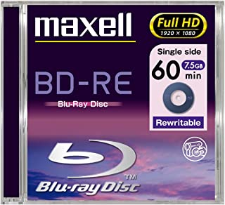Maxell 275316.10.JP 50GB Blu-ray 2X DL BD-RE Laser Disk