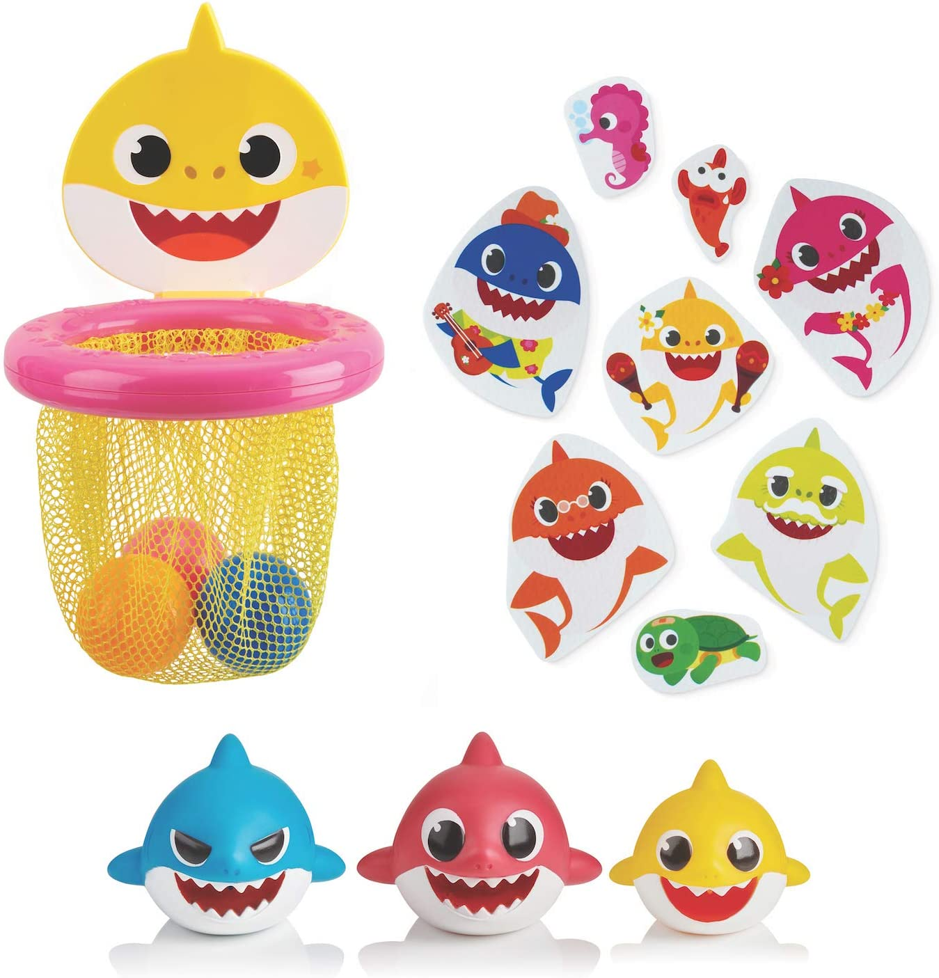 WowWee Pinkfong Outlet sale feature Baby Shark Official - Toy Bath Bundle Amazon Ex excellence
