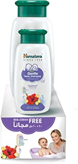 Himalaya Gentle Baby Shampoo No Parabens, Sulphates & Dyes Is Specially Formulated No-Tears Mild Shampoo with Hibiscus & C...