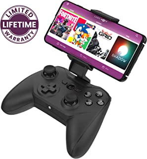 Rotor Riot Mobile Gamepad Controller for Android- Latency Free Wired Controller with L3 + R3, Improved 8 Way D-Pad, Highly Compatible Gaming Device Holder