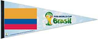 WinCraft Colombia FIFA World Cup Brasil Pennant and Banner
