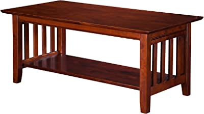 Amazon.com: International Concepts Hampton Coffee Table ...