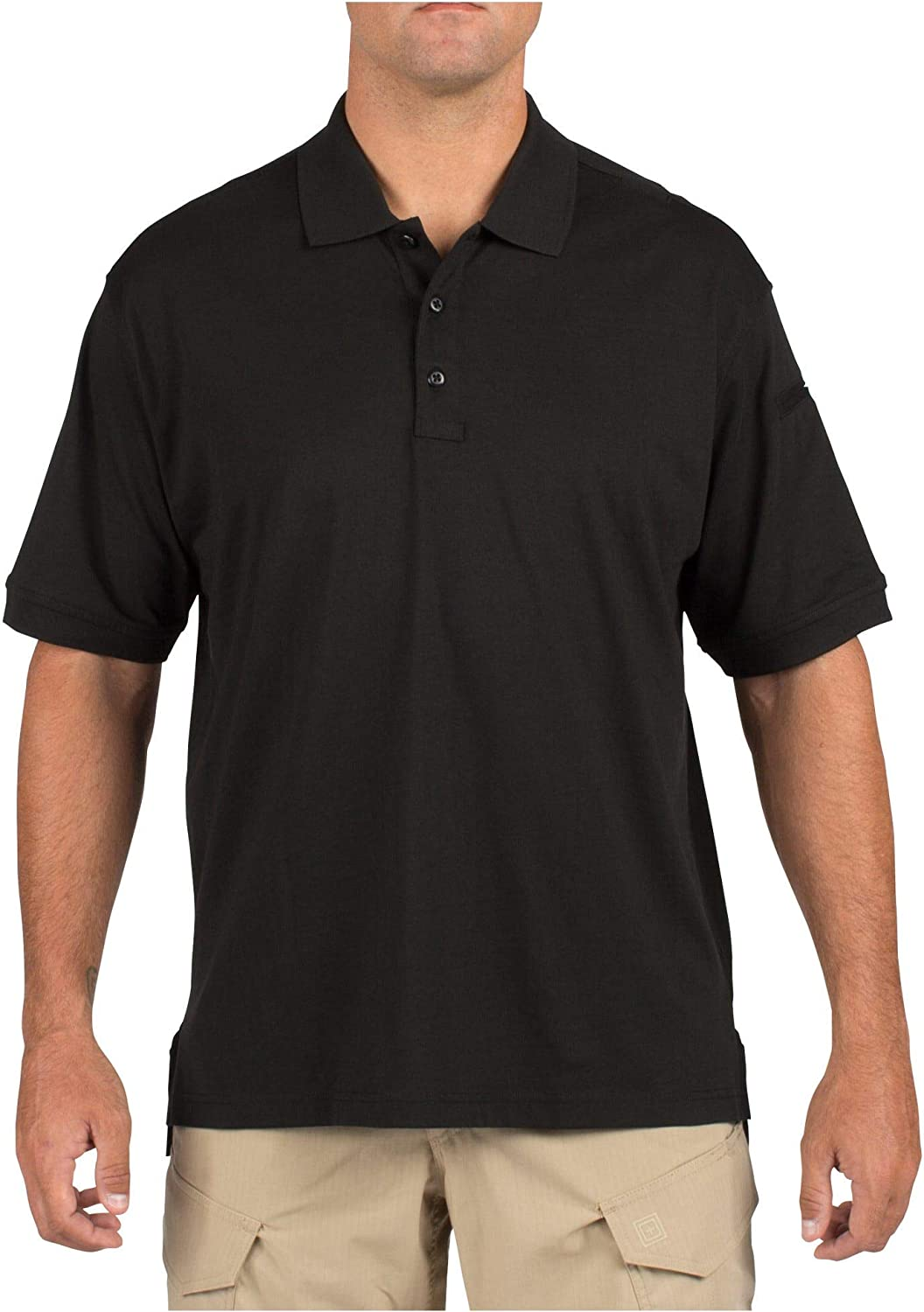 5.11 Tactical Men's Max 90% OFF Jersey Knit Short Wrinkle-Resi Shirt Sleeve Portland Mall