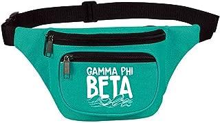 Gamma Phi Beta Three Zipper Fanny Pack