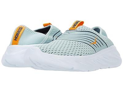 Hoka One One Ora Recovery Shoe (Blue Haze/Bright Marigold) Women