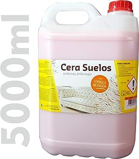 comprar comparacion IQG Cera Suelos ABRILLANTADOR, limpeza de Suelos, Mantiene Las Superficies limpias, protegidas y nutridas. Ideal para Suel...