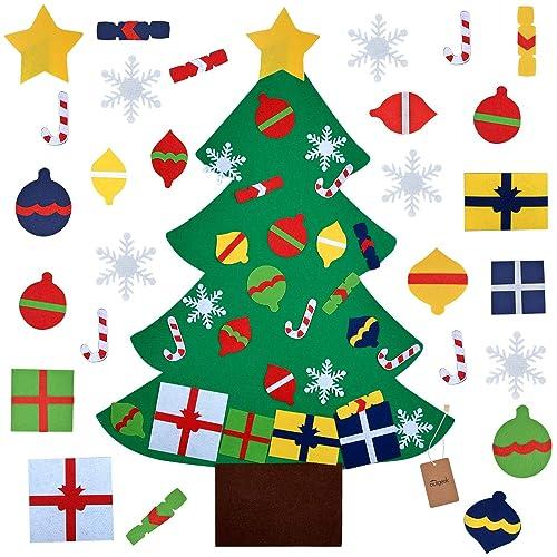 Felt Christmas Tree Ornaments Patterns.Felt Christmas Tree Ornaments Amazon Com