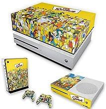 Capa Anti Poeira e Skin para Xbox One S Slim - The Simpsons