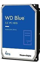 """Western Digital 4TB WD Blue PC Hard Drive - 5400 RPM Class، SATA 6 Gb / s، 256 MB Cache، 3.5 """"- WD40EZAZ"""