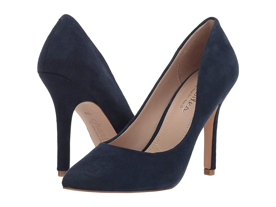 Charles by Charles David Maxx (Deep Navy Suede) High Heels