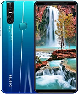 3G Unlocked Smartphone, X27 Plus Android 8.0 Dual SIM Phones Unlocked with 5.8 inch HD Display, 1GB RAM+4GB ROM, MTK6739 8 core Mobile Phone, 3800mAh Battery,Dual Camera (Blue)