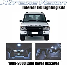 XtremeVision Interior LED for Land Rover Discover 1999-2003 (18 Pieces) Cool White Interior LED Kit + Installation Tool