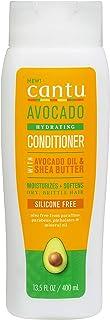 Cantu Avocado Sulfate Free Cream Conditioner with Avocado Oil & Shea Butter, 13.5 Fl Oz