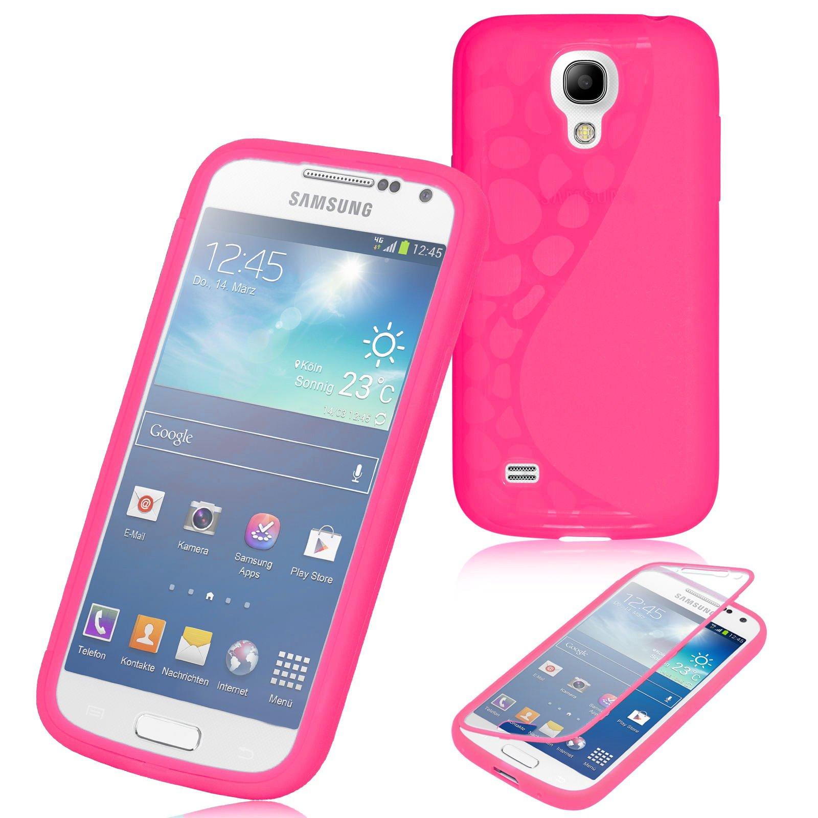 Samsung Galaxy S4 Mini Case, JAMMYLIZARD Funda De Silicona TPU [Silicone Flip] Con Tapa Flip Cover, FUCSIA: Amazon.es: Electrónica