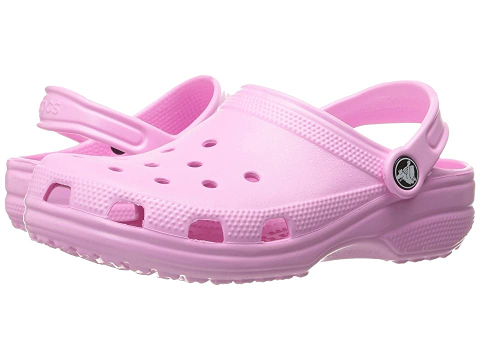 Crocs Kids Classic Clog (Toddler/Little Kid) (Carnation) Kids Shoes