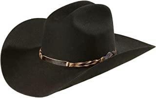 Stetson Men's 4X Portage Buffalo Felt Cowboy Hat - Sbprtg-724207 Black