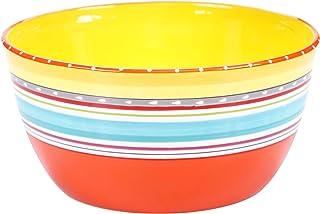 "Certified International Mariachi Deep Bowl, 10.75"" x 5.5"", Multicolor"