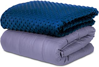 SAFR Home Therapy Weighted Blanket & Removable Cover (60