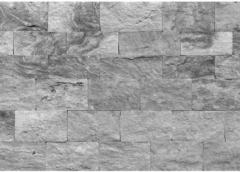 Vlies Fototapete 400x280 cm PREMIUM PLUS Wand Foto Tapete Wand Wand Wand Bild Vliestapete - Steinwand Tapete Steinoptik Sandstein Steine Wand 3D Steintapete anthrazit - no. 4303 B075V1LHV4 d45e2a