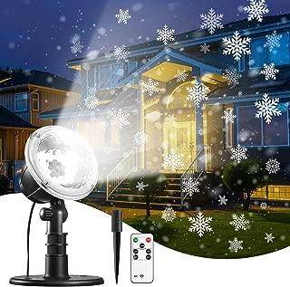 Best laser snow projector Reviews