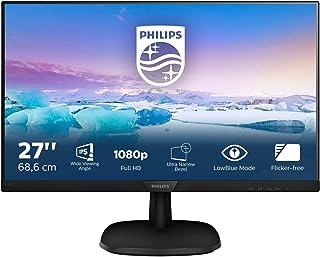 Philips Monitors, 273V7QDSB/00 27 Cali, Monitor, Czarny