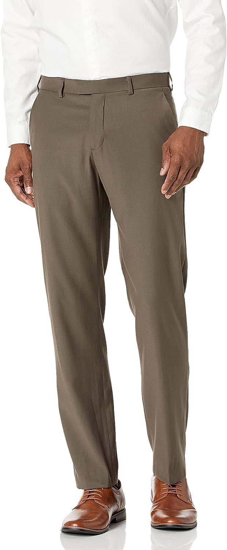 Brand Great interest new Perry Ellis Men's Portfolio Modern Fit Flat Front Pant Bengaline