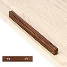 Houten lade trekt knoppen massief houten kast trekt rechthoekige bar handgrepen keuken meubels hardware voor slaapkamer en...