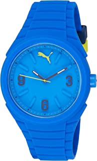Puma Gummy Unisex Quartz Watch with Dial Analogue Display and Silicone Strap