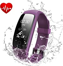 DBPOWER Activity Tracker & Heart Rate Monitor, IP67 Water-Resistant Fitness Tracker with Step Counter, Sleep Monitor, Calorie Counter, Pedometer Watch for Adults & Kids, Great Gift