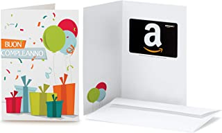 Buono Regalo Amazon.it in un biglietto d'auguri