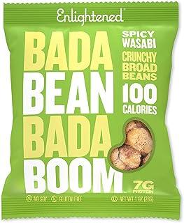 Bada Bean Bada Boom - Plant-Based Protein, Gluten Free, Vegan, Crunchy Roasted Broad (Fava) Bean Snacks, 10...