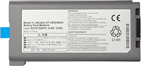 CPY CF-VZSU46S Replacement Battery Compatible with Panasonic Toughbook Cf-30 Cf-31 Cf-52 Cf-53 Laptop Cf-vzsu46au Cf-vzsu71u Cf-vzsu72u Cf-vzsu1430u CF-VZSU46 CF-VZSU46U 10.65V 8.55Ah 9-Cell