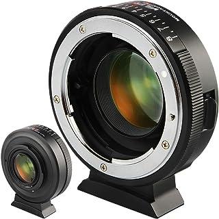 VILTROX NF-M43X スピードブースター 0.71x MF ニコン Nikon AI(G)/AFレンズ→パナソニック GH/GXシリーズ&オリンパス マイクロフォーサーズマウントカメラ マウントアダプター 無限遠調整可能 GH5 GH...