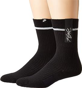 06b377174 Nike. Performance Cushioned Quarter Training Socks 3-Pair Pack. $14.00.  Sneaker Crew Sox