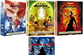 Avatar the Last Airbender: Complete Series Seasons 1-3 Limited Edition DVD Collection (Loaded with Hours of Special Features) with Bonus Art Card
