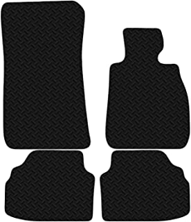 Carsio CUT-1564 Black Floor Rubber Tailored Car Mat 3mm 4pc Set TO FIT - 3 Series E92 Coupe 2006 ->
