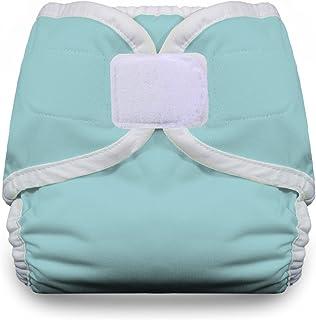 Diaper Cover Hook & Loop, Aqua Medium