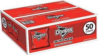 Doritos Nacho Cheese Flavored Tortilla Chips, 1 Oz Bags (50Count)