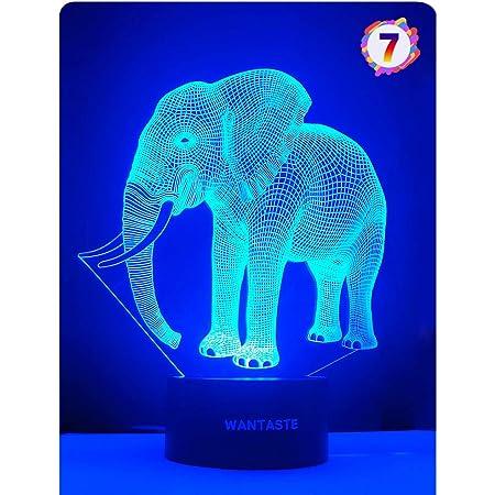 /'Elephant Mother /& Child/' Flower Shape Highlighter Pen HL00014745