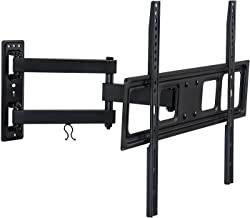 Mount-It! Articulating TV Wall Mount Arm, Fits 37-70 Inch TVs, Up to VESA 400x400 and 600x400, 17 Extension from Wall, 77 Lbs Capacity