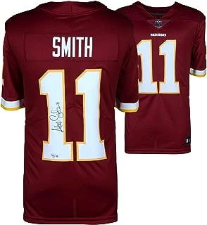 Alex Smith Washington Redskins Autographed Nike Burgundy Limited Jersey - Fanatics Authentic Certified